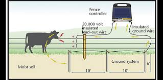 ground rod installation grounding electric fence zareba