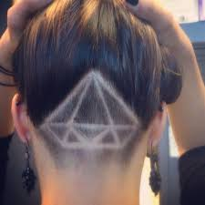 1000 ideas about undercut designs on pinterest undercut nape
