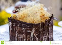 spun sugar chocolate cake royalty free stock photos image 20839548