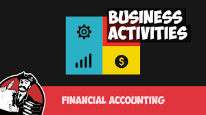 business activities operating investing and financing financial