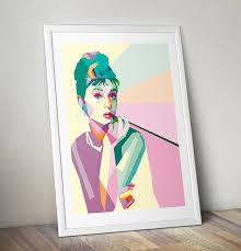 audrey hepburn pop art painting pop art gifts pop art shop hand audrey hepburn pop art painting pop art gifts pop art shop hand
