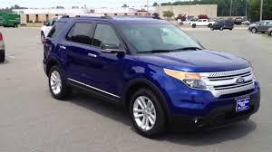 Ford Explorer 2014 - new 2013 ford explorer xlt deep impact blue for sale youtube