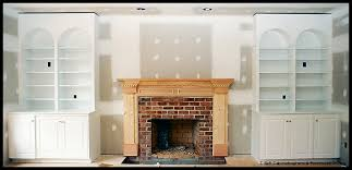 Fireplace Mantels With Bookcases Bookcases U0026 Fireplace Surround