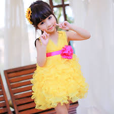 dresses for 11 year olds graduation 2014 new summer girl party dresses graduation princess bud flower