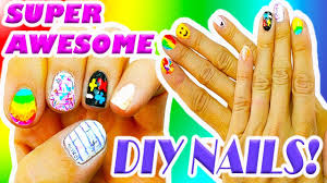 10 nail designs using supplies super creative u0026 fun