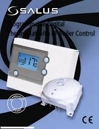 salus thermostats rt500bc pdf instruction manual free download