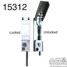 Patio Door Latch Replacement milgard sliding door locks milgard sliding screen door latch