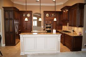 wood countertops antique white kitchen island lighting flooring