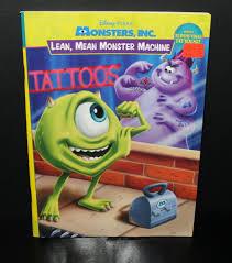 monsters tattoo activity book theamiableamasser deviantart