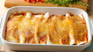 Cooking Light Enchilada Casserole 5 Ingredient Beef Enchilada Casserole Recipe Pillsbury Com