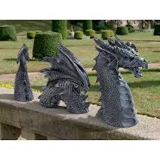 Medieval Dragon Home Decor Amazon Com Design Toscano The Dragon Of Falkenberg Castle Moat