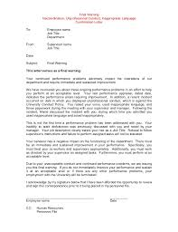 100 final notice letter template warning letter templates