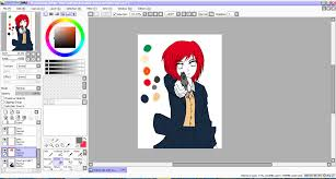 how to draw anime characters using paint tool sai meimei