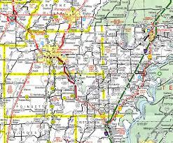 Interstate Highway Map Arkansas Highway Map My Blog
