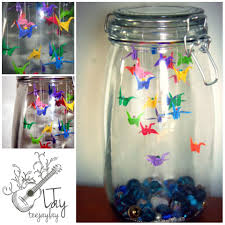i think this in a large jar would be cute papercrafts