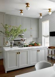 Small Kitchen With Great Details by Best 25 Light Grey Kitchens Ideas On Pinterest Eider White