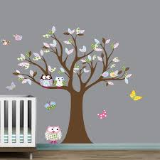 Nursery Owl Wall Decals Owl Wall Decals For Nursery Home Design Owl Wall Decals