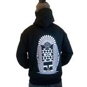 aztec temple hoodie mind plugs