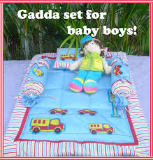 transport theme gadda set from the exclusive home decor and home