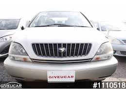 lexus used car auction used toyota harrier from japan car exporter 1110518 giveucar