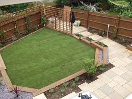 Gardens With Sleepers Ideas Exceptional Back Garden Landscape Designs 1 Gardens With
