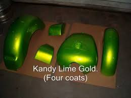 how to paint custom candy kandy on motorcycle youtube