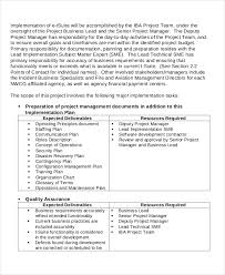 project implementation template 6 free word pdf documents