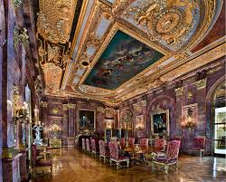 Marble House Interior Going For Gold Donald Trump Louis Xiv And Interior Design