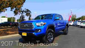 toyota tacoma 2017 toyota tacoma trd 3 5 l v6 review youtube
