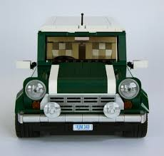 lego mini cooper the earth green machine new elementary a lego blog of parts