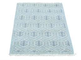 2x4 Rug 2 U0027x3 U0027 Paisley Design Turkish Knot Pure Wool Hand Knotted Oriental