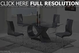 modern glass dining room sets modern glass dining table sets glass dining table and alluring