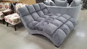 Chaise Lounger Costco Bainbridge Fabric Microfiber Pillow Chaise Lounger 299
