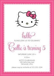 hello kitty party invitations hello kitty party invitations with
