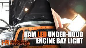 2009 2017 Dodge Ram LED Under Hood Light Bulb Upgrade