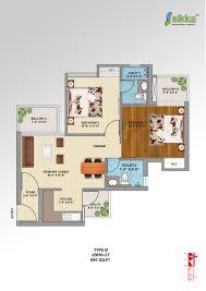 green floor plans sikka kirat greens sector 10 noida extension greater noida west