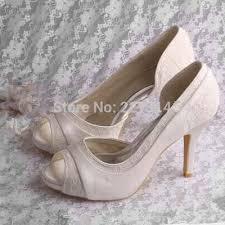 chaussure mariage ivoire chaussure mariage ivoire dentelle magasin chaussures ivoire dijon