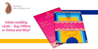 indian wedding invitation cards online indian wedding cards offline or online and why shubhankar