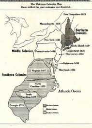 the thirteen colonies map 13 colonies map to color and label although notice that they