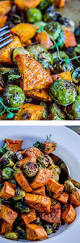 How To Make Roasted Vegetables by Roasted Sweet Potatoes And Brussels Sprouts Recipe Brussels