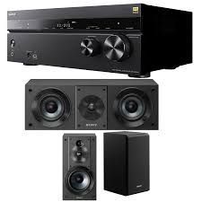sony home theater receivers sony 7 2 dolby atmos wi fi network av receiver home theater bundle
