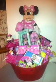 minnie mouse easter basket ideas disney princess and minnie mouse easter baskets gift baskets