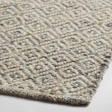 Jute Bathroom Rug Gray Metallic Woven Jute Alden Area Rug World Market