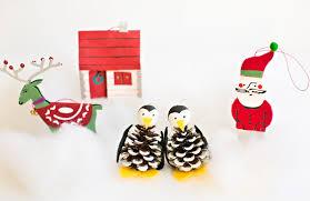 hello wonderful pine cone penguin ornament craft
