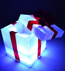 awesome light up gift box great idea for the holidays birthdays