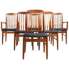 Dining Chairs Sale Uk Dining Chairs For Sale Six Modern Teak Dining Chairs By