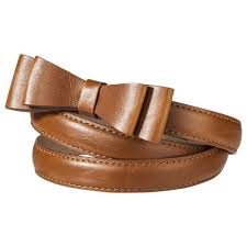 bow belt women s narrow bow buckle belt mossimo supply co target