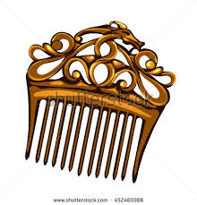 vintage hair combs hair comb stock images royalty free images vectors