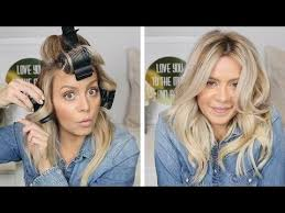 how to put rollersin extra short hair best 25 hot rollers ideas on pinterest rapunzel hair salon