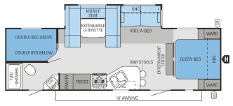 attractive jayco camper floor plans part 11 expandable rv floor